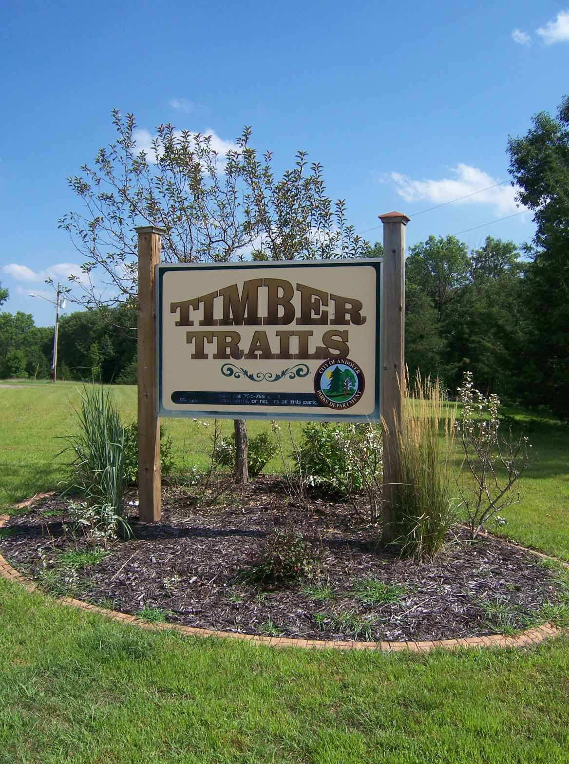 Timber Trails Park in Andover