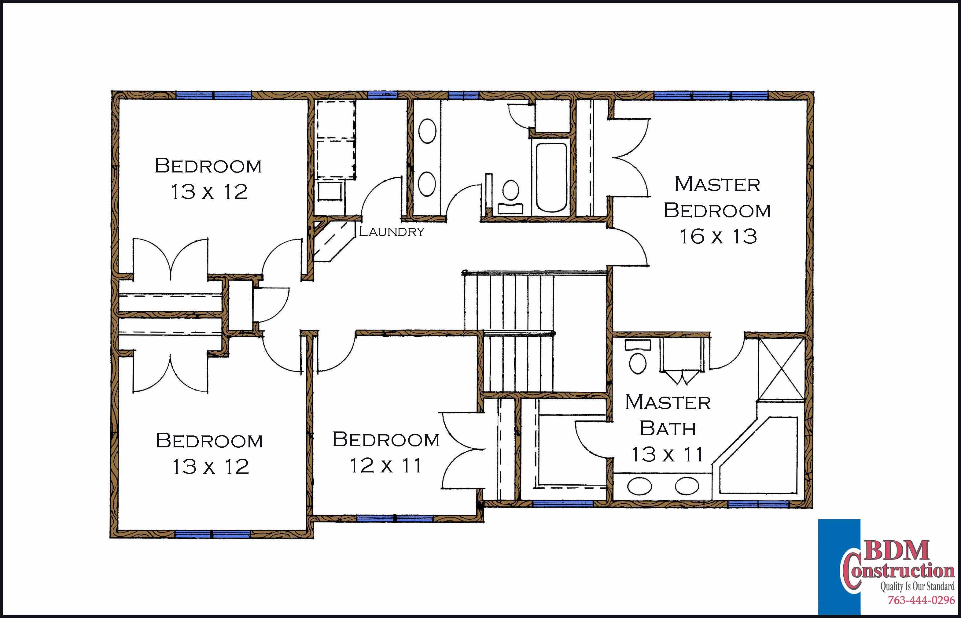 Andover model home Master bedroom closet design plans